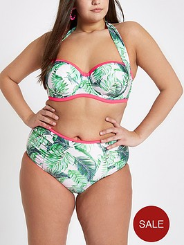 ri-plus-ruched-halter-bikini-top-palm-print