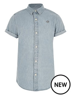 river-island-boys-light-blue-short-sleeve-denim-shirt