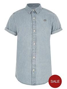 river-island-boys-light-blue-short-sleeve-denim-shirt