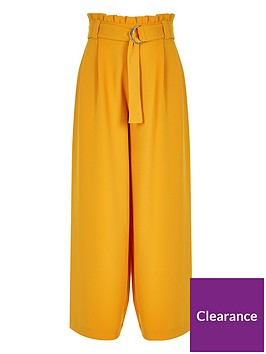 river-island-girls-yellow-paperbag-waist-wide-leg-trousers