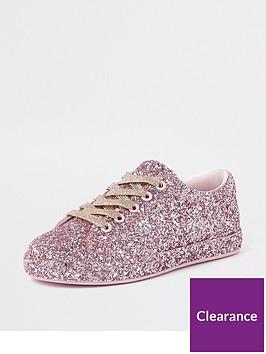 river-island-girls-glitter-plimsolls-pink