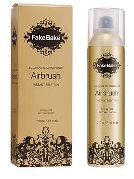 Fake Bake Airbrush Instant Self Tan 210Ml