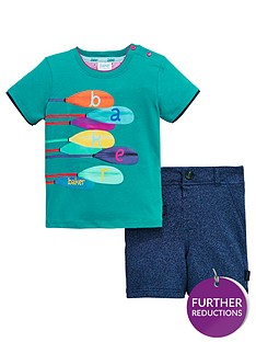64627abb2fa4 Baker by Ted Baker Baby Boys Paddle Tee   Short Set