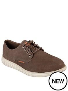 skechers-skechers-plain-toe-lace-up-suede-shoe