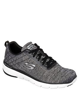 skechers-lace-up-jogger-trainers-grey