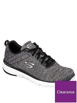skechers-mensnbspflex-advantage-30-jectionnbsptrainers-grey