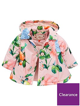 c40a87552997 Baker by Ted Baker Baby Girls Rose Lightweight Mac