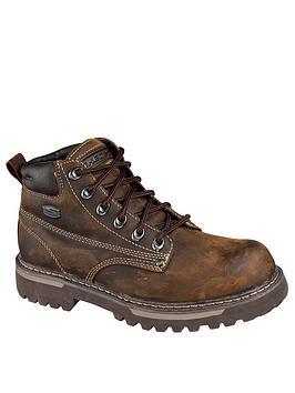 skechers-cool-cat-bully-boots-brown