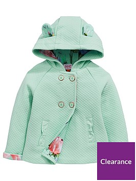af1dae17a Baker by Ted Baker Baby Girls Hooded Quilted Jacket