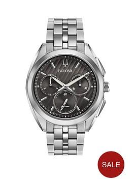 bulova-bulova-curv-gunmetal-and-silver-chronograph-dial-stainless-steel-bracelet-mens-watch