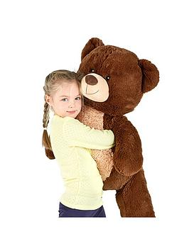 Compare retail prices of 100Cm Standing Dark Brown Bear to get the best deal online