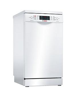 bosch-serie-6nbspsps66tw00gnbsp10-place-settings-slimlinenbspdishwasher-with-supersilencenbsp--white
