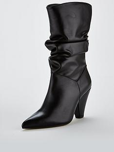 carvela-carvela-scrunch-blackleather-leather-calf-boot