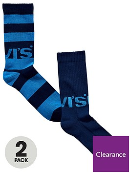 levis-levis-2pk-rugby-logo-sock