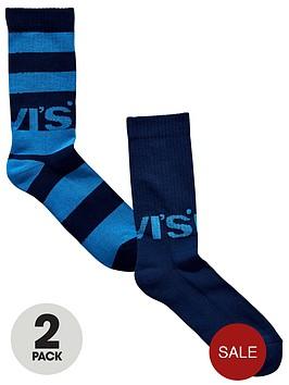 levis-levis-2pk-rugby-logo-sock