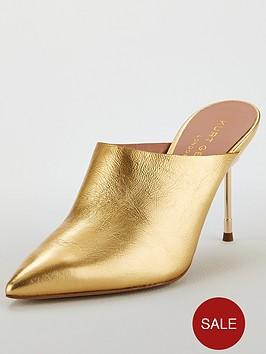 kurt-geiger-london-kurt-geiger-london-berner-gold-leather-heeled-mule-shoe