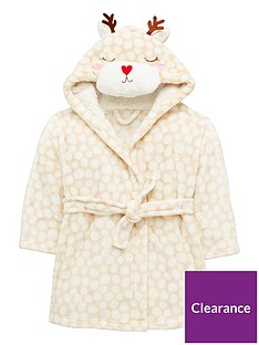 mini-v-by-very-girls-reindeer-christmas-dressing-gown-multi-coloured