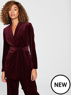 v-by-very-belted-velvet-jacket-burgundy