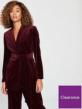 v-by-very-belted-velvet-suit-jacketnbsp--burgundy