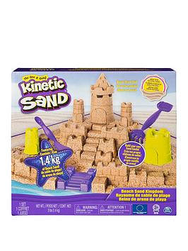 Kinetic Sand Kinetic Sand Mega Beach Castle Set Picture