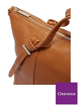 Ted Baker Oellie Knotted Handle Large Tote Bag - Tan   littlewoods.com 98150d42a0