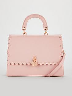 Ted Baker Harriet Scalloped Padlock Shoulder Bag - Light Pink 1334e52cce368