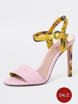 river-island-river-island-wide-fit-strap-heel-sandal-pink-print
