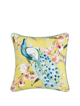 peacock-cushion