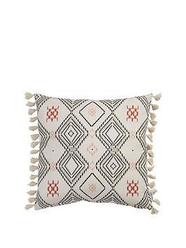 ideal-home-aztec-tassel-cushion