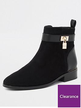 river-island-river-island-padlock-block-heel-boots-black