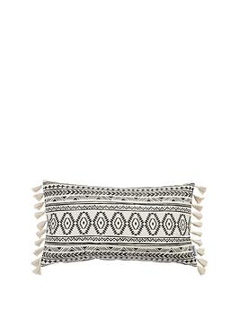 ideal-home-nomad-tassel-bolster-cushion