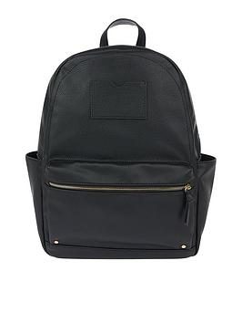 accessorize-dome-backpack-black