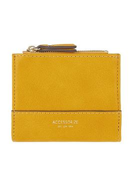 accessorize-bella-wallet-yellow