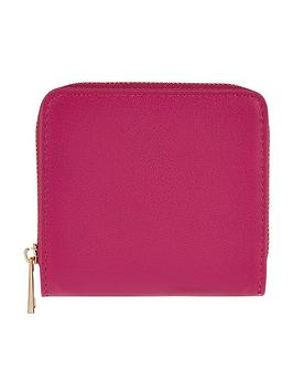 accessorize-sarah-small-zip-around-wallet-fuchsia
