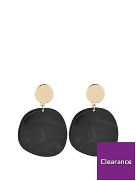 v-by-very-algarve-circle-resin-drop-earrings