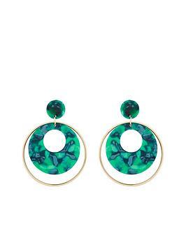v-by-very-aruba-marble-effect-hoop-earrigns