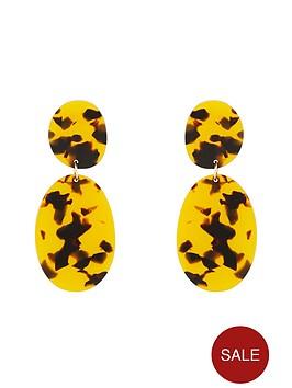 v-by-very-abbi-tort-resin-drop-earrings-ochrebrown