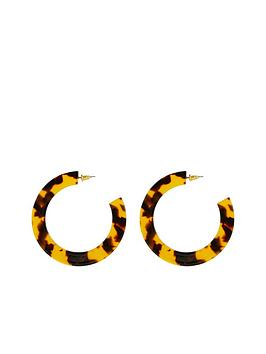 v-by-very-ari-tortoiseshell-hoop-earrings-brown