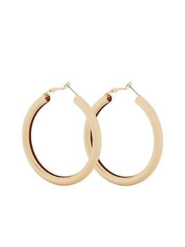v-by-very-ada-thick-round-hoop-earrings-gold