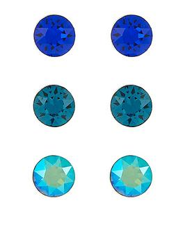 accessorize-accessorize-sterling-silver-3x-swarovski-stud-set-earrings