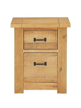 albion-solid-pine-2-drawer-beside-chest