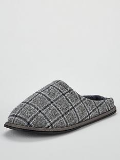 v-by-very-grey-marl-check-mules