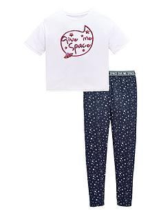 v-by-very-girls-039give-me-space039-sequin-pyjama
