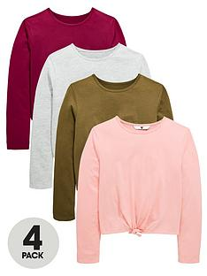 v-by-very-4-pk-tie-up-long-sleeve-tees