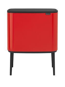 brabantia-bo-11-23-litre-recycling-touch-bin
