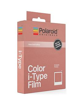 polaroid-originals-instant-colour-film-with-rose-gold-frames-for-polaroid-i-type-cameras-rose-gold-frames-pack-of-8