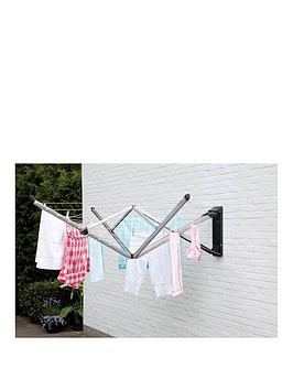 Brabantia Brabantia Wallfix Clothes Airer With Cover Picture