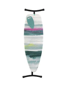 brabantia-ironing-board-d-extra-large-135-x-45-cm-with-silicone-heat-pad-black-frame