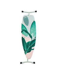 brabantia-extra-large-ironing-board-size-d-l135-x-w45-cm-silicone-iron-rest-tropical-leaves