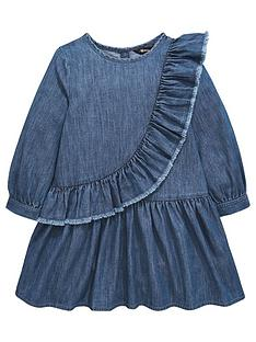 mini-v-by-very-girls-denim-ruffle-dress